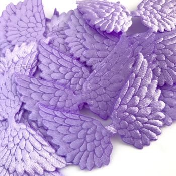 7cm Wing - Lilac Satin