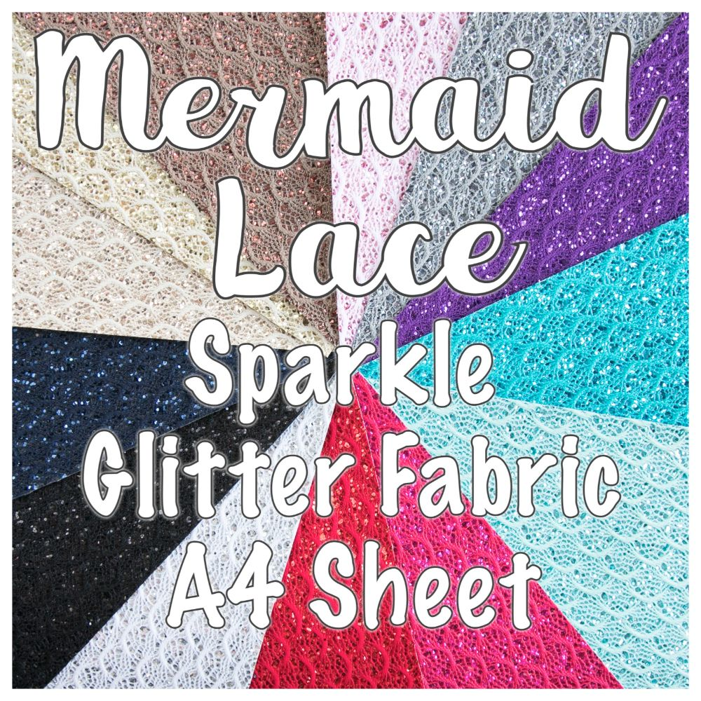 Mermaid Lace Gitter Fabric