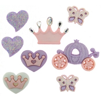 Dress It Up Button Pack - Our Princess