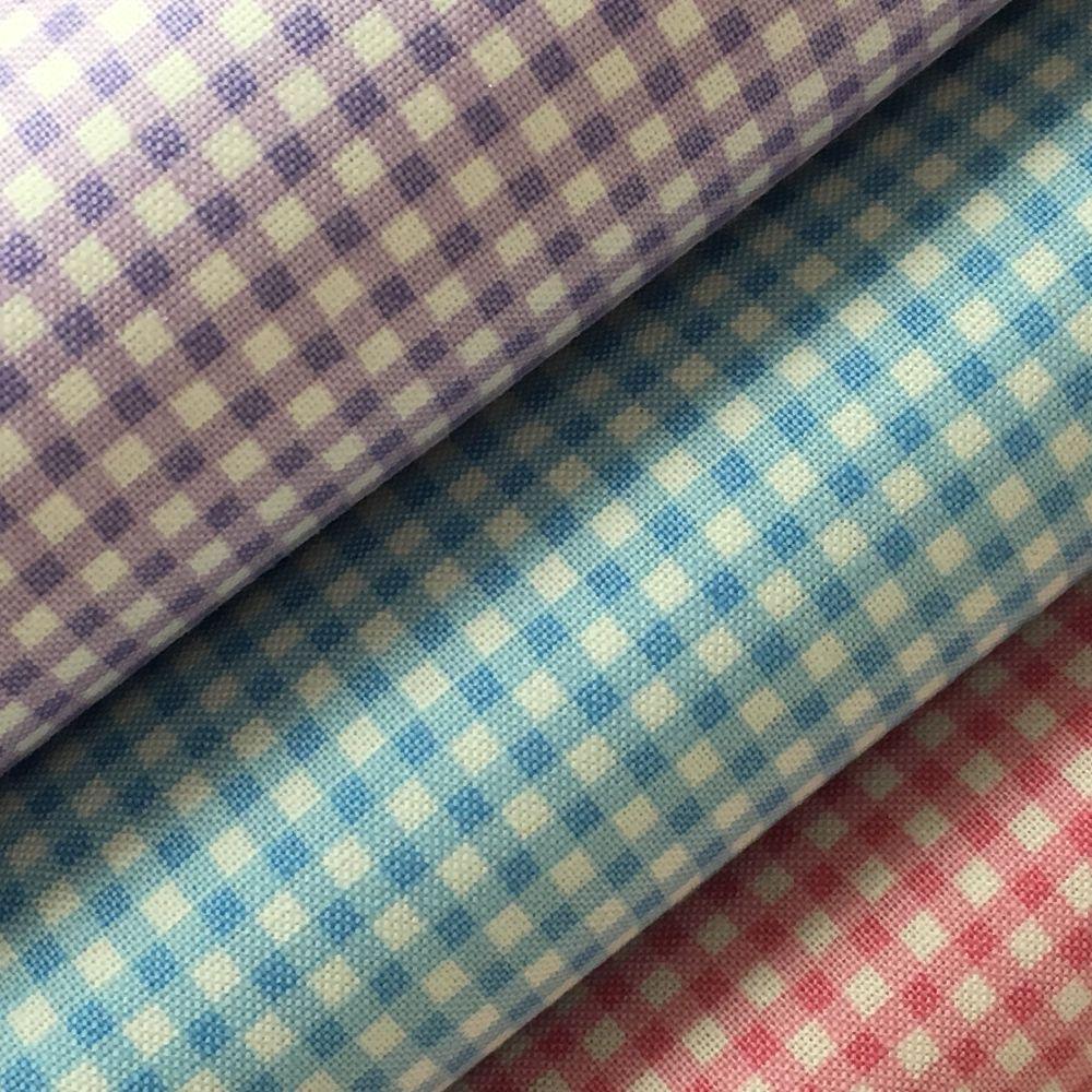 Gingham Fabric Felt