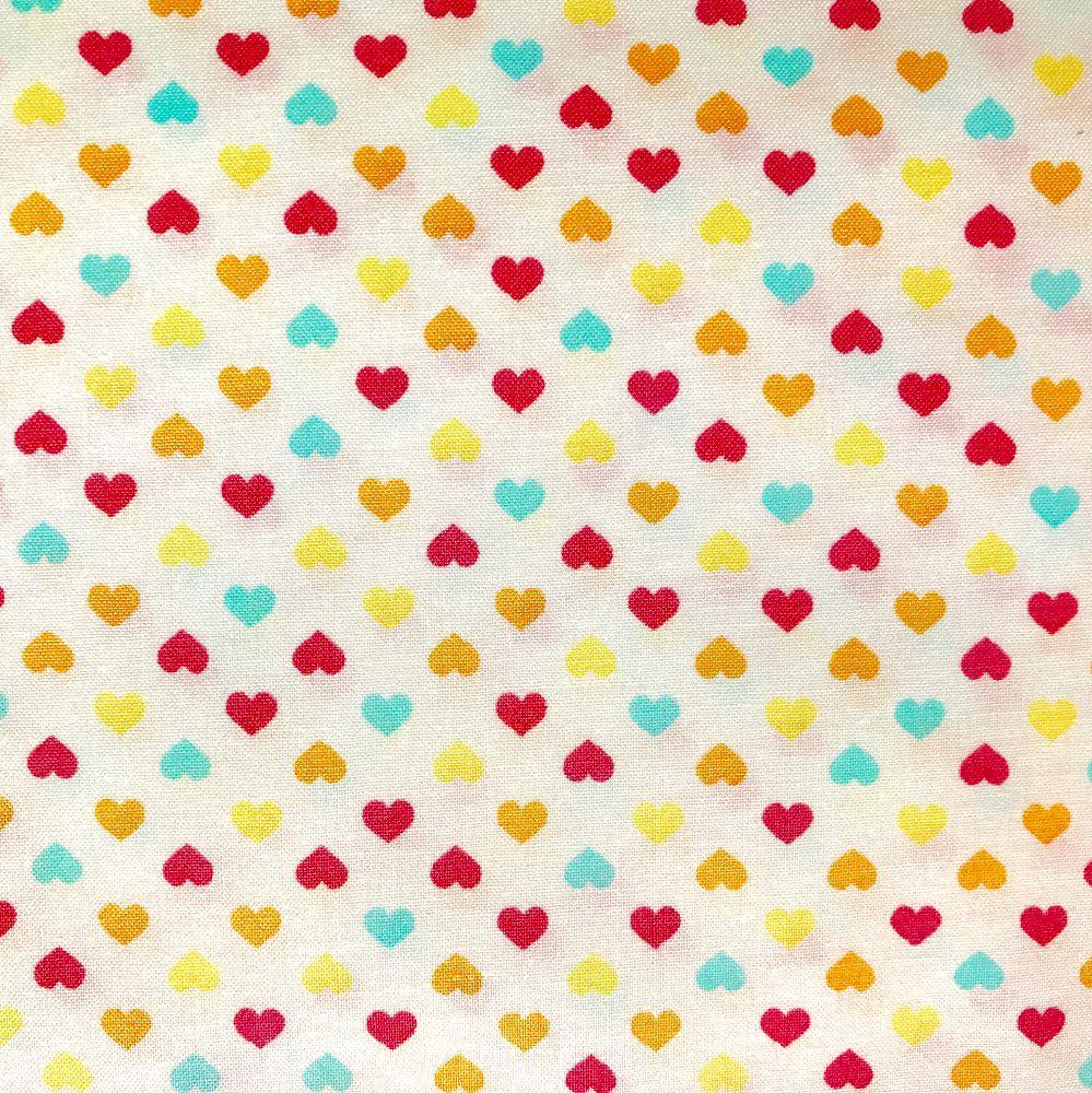 Hearts Fabric Felt