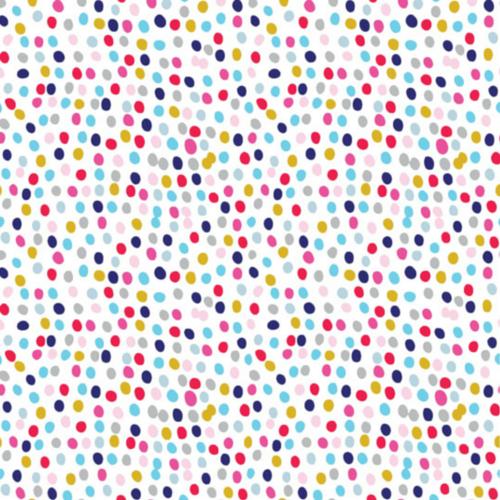 Polka Dot Fabric Felt