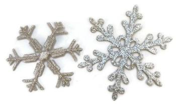 Iron/Sew On Snowflake Motifs - Pack 3