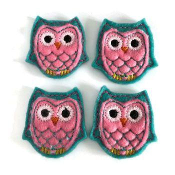 Feltie - Owl - Mint