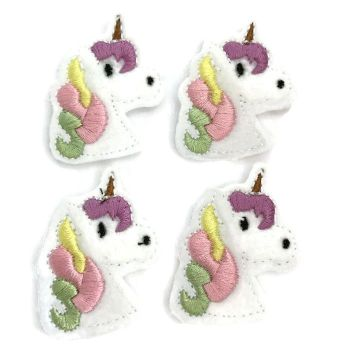 Feltie - Unicorn - Pastel