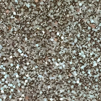 Rock Candy Glitter Fabric - Pure Silver