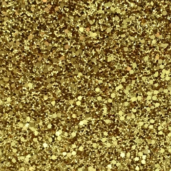 Rock Candy Glitter Fabric - Pure Gold