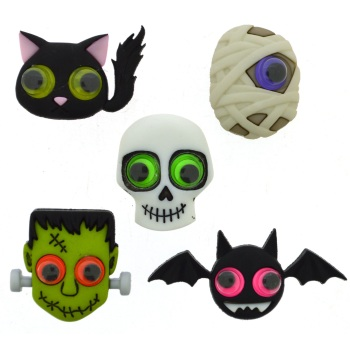 Dress it Up Button Pack - Jeepers Peepers