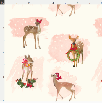 Artisan Fabric Felt - Christmas - Vintage Deer