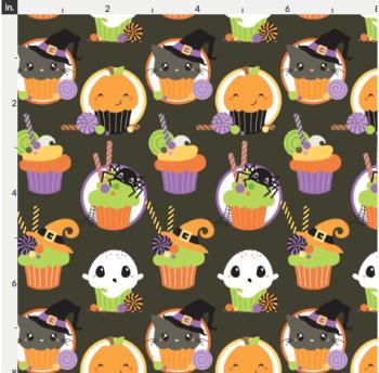 Artisan Fabric Felt - Halloween - Cupcakes