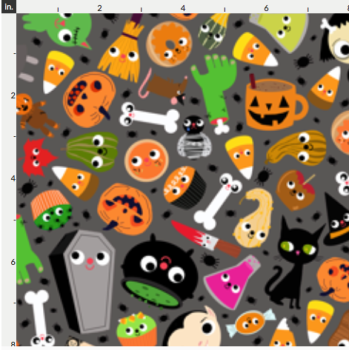 Halloween Artisan Fabric Felt- Monster Mash