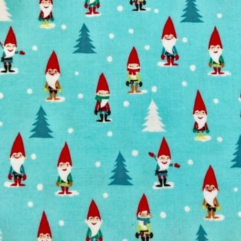 Christmas Fabric Felt - Gnomes