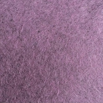Marl Wool Blend Felt Sheet - Heathered Purple