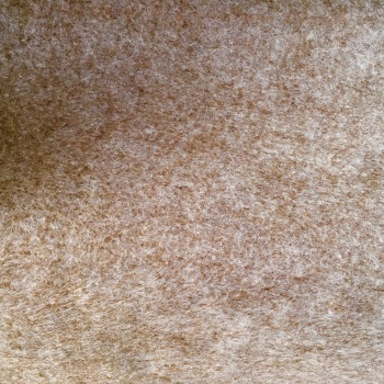 Marl Wool Blend Felt Sheet - Heathered Mushroom