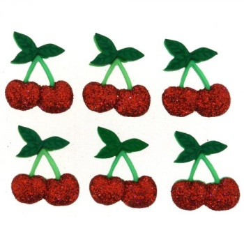 Dress It Up Button Pack - Cherries