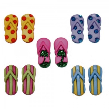 Dress It Up Button Pack - Fab Flops