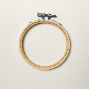 "3"" Round Wood Embroidery Hoop"