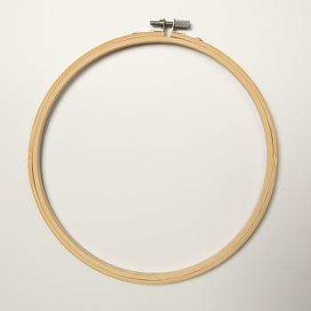 "8"" Round Wood Embroidery Hoop"