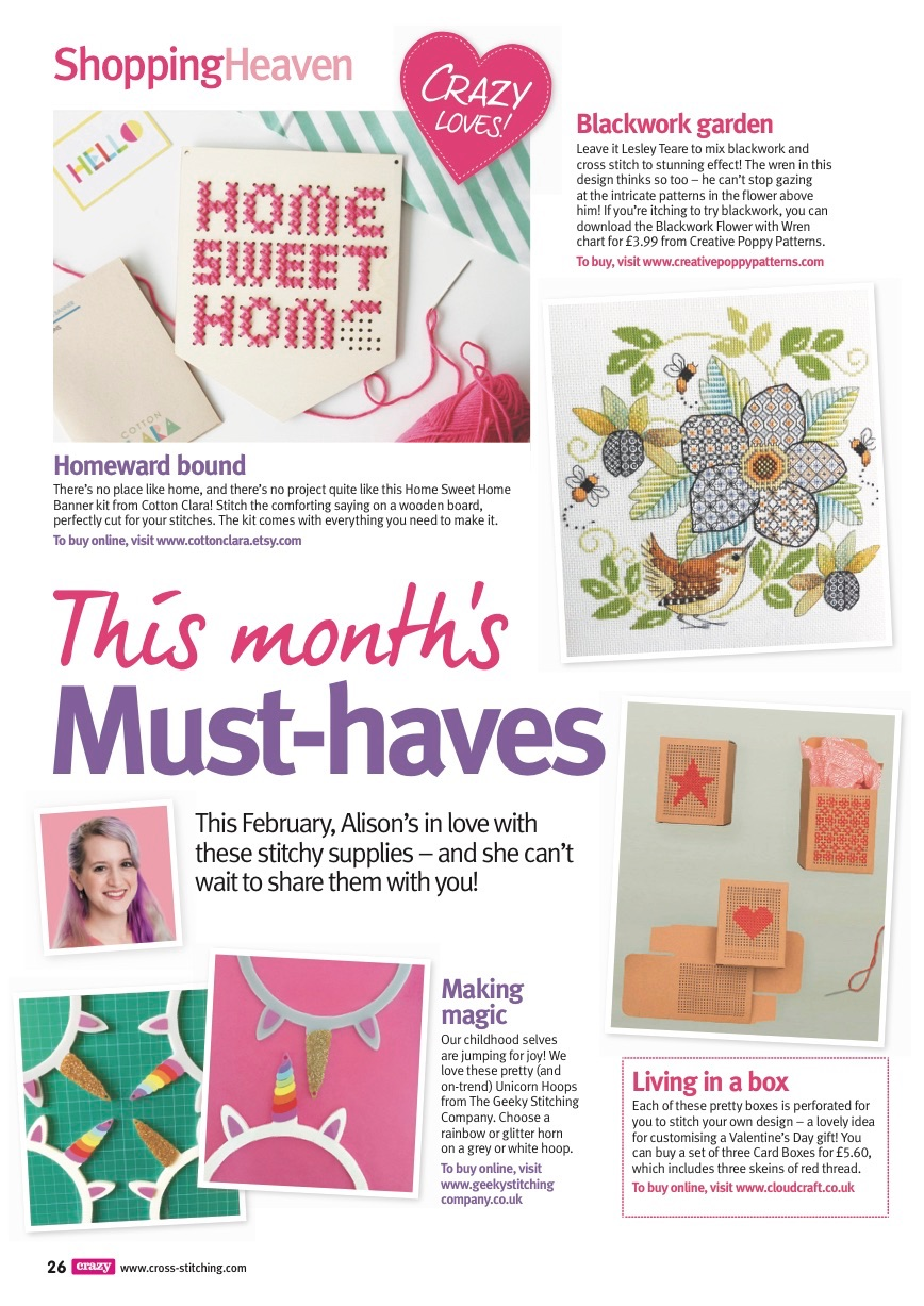 Must haves Crazy issue 238