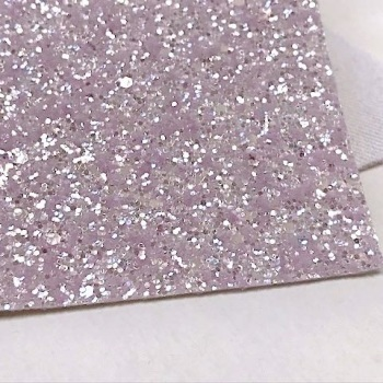 Limited Edition Glitter Fabric - Coconut Ice