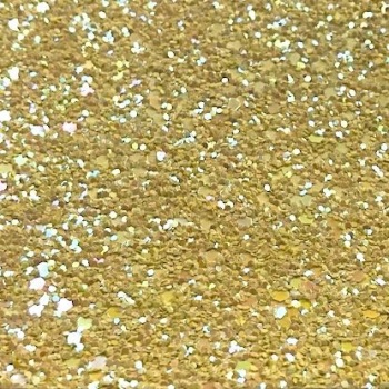 Exclusive Chunky Glitter Fabric A4 Sheet - Duckling