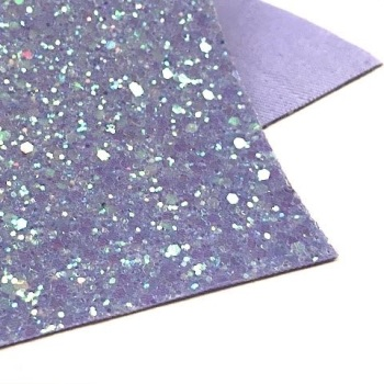 Limited Edition Glitter Fabric - Violet