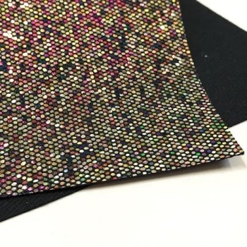 Limited Edition Sequin Glitter Fabric - Neptune