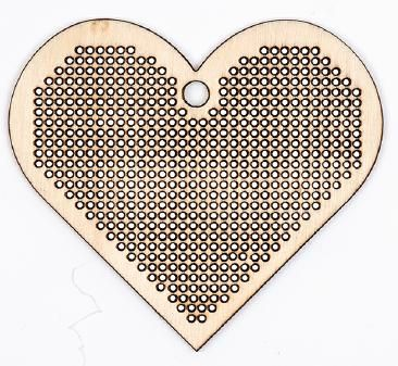 Embroidery Me: Wood Heart