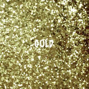 Glitz Chunky Glitter Fabric - Gold