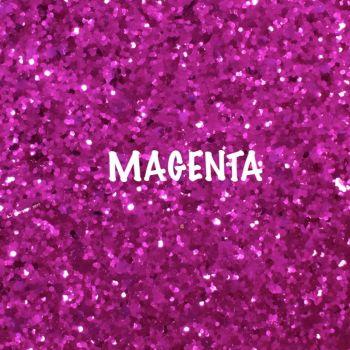 Glitz Chunky Glitter Fabric - Magenta