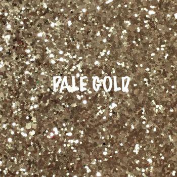 Glitz Chunky Glitter Fabric - Pale Gold