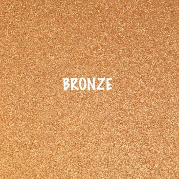 Shimmer Fine Glitter Fabric - Bronze
