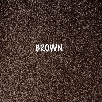 Shimmer Fine Glitter Fabric - Brown