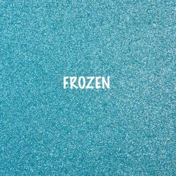Shimmer Fine Glitter Fabric - Frozen