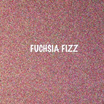Shimmer Fine Glitter Fabric - Fuchsia Fizz