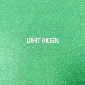 Shimmer Fine Glitter Fabric - Light Green