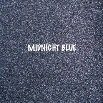 Shimmer Fine Glitter Fabric - Midnight Blue