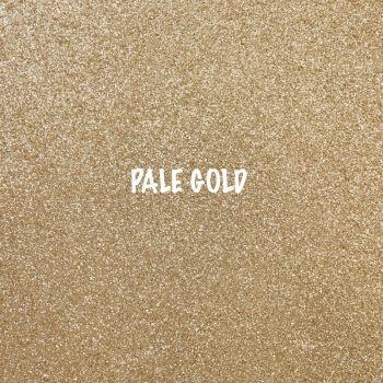 Shimmer Fine Glitter Fabric - Pale Gold