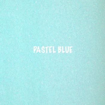 Shimmer Fine Glitter Fabric - Pastel Blue