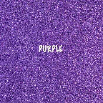 Shimmer Fine Glitter Fabric - Purple