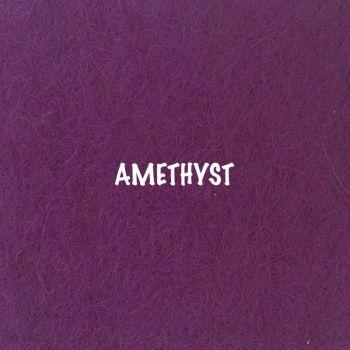 Fusion Self Adhesive Felt - Amethyst