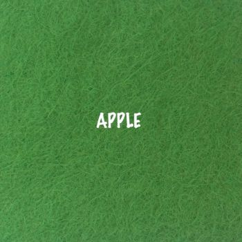Fusion Self Adhesive Felt - Apple