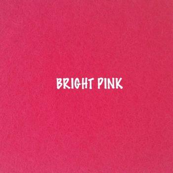Fusion Self Adhesive Felt - Bright Pink