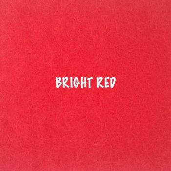 Fusion Self Adhesive Felt - Bright Red