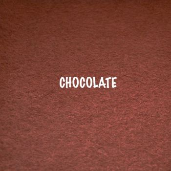 Fusion Self Adhesive Felt - Chocolate
