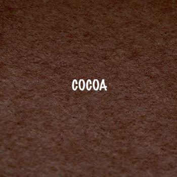 Fusion Self Adhesive Felt - Cocoa