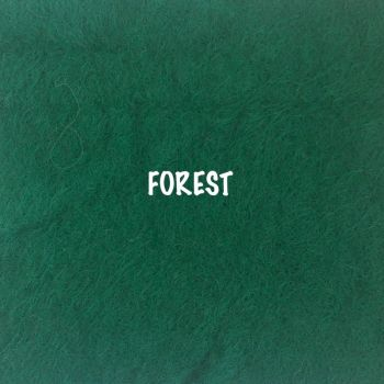 Fusion Self Adhesive Felt - Forest