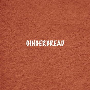 Fusion Self Adhesive Felt - Gingerbread
