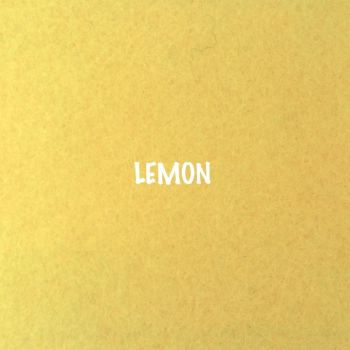 Fusion Self Adhesive Felt - Lemon