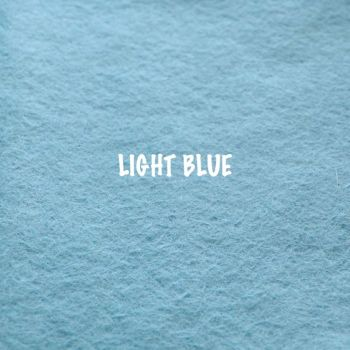 Fusion Self Adhesive Felt - Light Blue